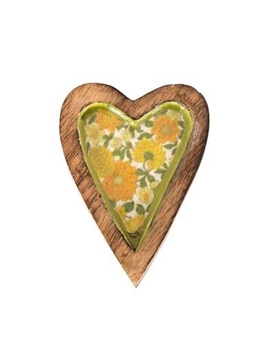 Vitale Dekoratif Kalp Küçük Boy Yeşil